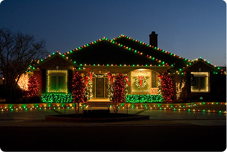 House With Christmas Lights Clipart.Make 2 000 Per Day Installing Christmas Lights